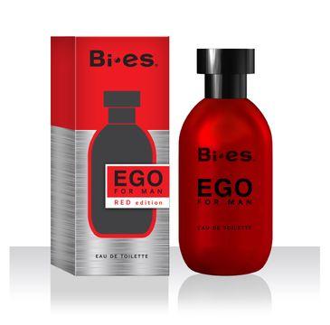 Bi-es Ego Red woda toaletowa męska 100 ml