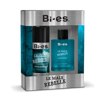 Bi-es Le Male Rebelle Komplet (woda toaletowa 100 ml + dezodorant 150 ml)