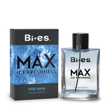 Bi-es Max Ice Freshness for men woda toaletowa męska 100 ml