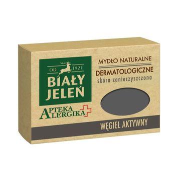 Biały Jeleń Apteka Alergika mydło do skóry zanieczyszczonej naturalne węgiel aktywny 125 g