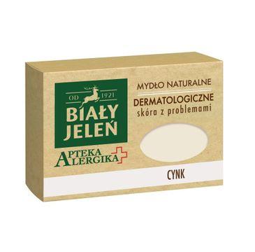 Biały Jeleń Apteka Alergika Mydło naturalne Cynk - skóra z problemami 125 g