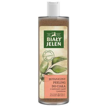 Biały Jeleń Botaniczny peeling do ciała z nasionami jagód i jaśminem (400 ml)