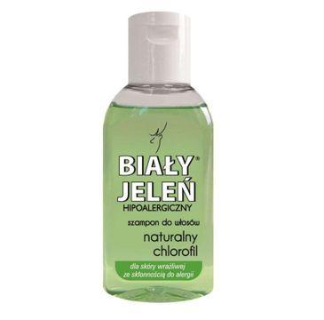 Biały Jeleń Hipoalergiczny szampon do włosów z naturalnym chlorofilem 50ml