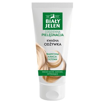 Biały Jeleń – Kwaśna odżywka do włosów (200 ml)