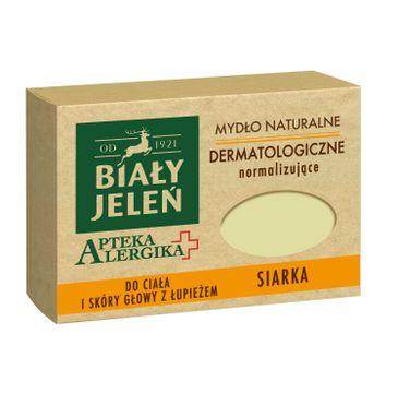 Biały Jeleń – mydło dermatologiczne z siarką Apteka Alergika (125 g)