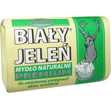 Biały Jeleń mydło do skóry wrażliwej hipoalergiczne premium w kostce 100 g