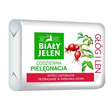 Biały Jeleń mydło do skóry wrażliwej hipoalergiczne premium z głogiem 100 g