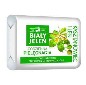 Biały Jeleń mydło do skóry wrażliwej hipoalergiczne premium z kasztanowcem 100 g