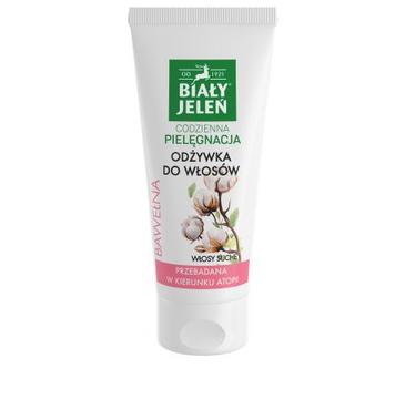 Biały Jeleń odżywka do włosów suchych i zniszczonych bawełna (200 ml)