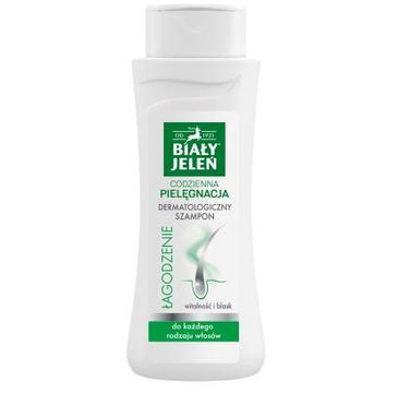 Biały Jeleń szampon dermatologiczny do włosów i skóry głowy łagodzenie (300 ml)