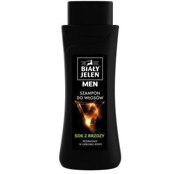 Biały Jeleń MEN szampon do włosów z sokiem z brzozy (300 ml)