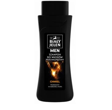 Biały Jeleń MEN szampon do włosów  z ekstraktem z chmielu (300ml)