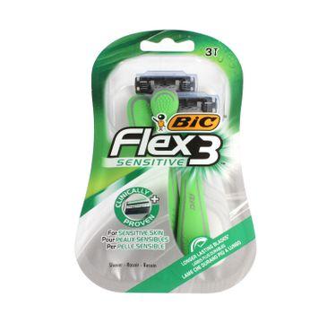BIC – Maszynka do golenia Flex 3 Sensitive ( 3 szt.)