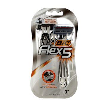 Bic maszynka do golenia Flex 5 1 op. - 3 szt.