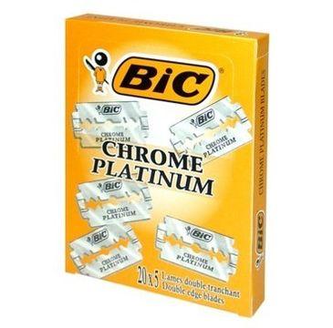 Bic Żyletki Chrome Platinum 1 op.- 20 x 5 szt.