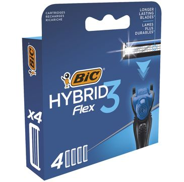 Bic Hybrid Flex 3 wkłady do maszynki (1 op. - 4 szt)