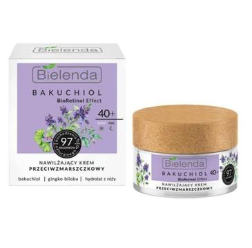Bielenda BAKUCHIOL Krem do twarzy przeciwzmarszczkowy nawilżający 40+ na dzien/noc (50 ml)