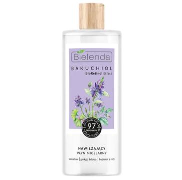 Bielenda BAKUCHIOL BioRetinol Effect Nawilżający płyn micelarny (500 ml)