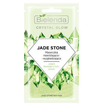 Bielenda – Crystal Glow Maseczka Jade Stone nawilżająco-wygładzająca (8 g)