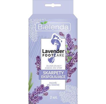 Bielenda Lavender Foot Care skarpety eksfoliujące - złuszczający zabieg do stóp (2 szt.)