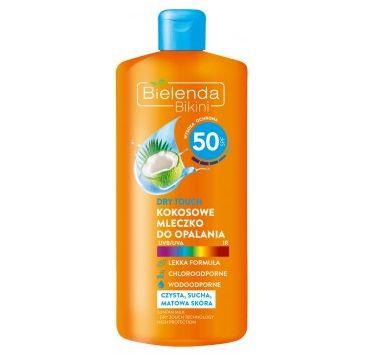 Bielenda – Bikini Dry Touch Kokosowe mleczko do opalania  SPF 50 (200 ml)