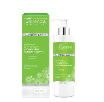 Bielenda Professional Supremelab Sebio Derm Łagodny żel do mycia twarzy z Kompleksem Antybakteryjnym (200 ml)