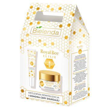Bielenda Zestaw prezentowy Royal Bee Elixir 40+ (krem na dzień i noc 50ml+krem pod oczy 15ml)