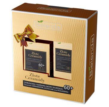 Bielenda Zestaw prezentowy Złote Ceramidy 60+ (krem na dzień i noc 50ml+krem pod oczy 15ml)
