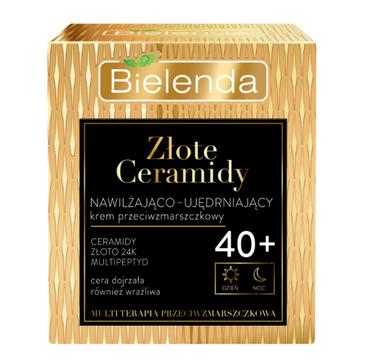 Bielenda Złote Ceramidy Krem 40+ Nawilżająco-ujędrniający dzień/noc (50 ml)