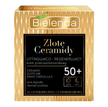 Bielenda Złote Ceramidy Krem 50+ Liftingująco-regenerujący (50 ml)