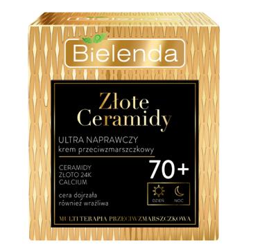 Bielenda Złote Ceramidy Krem 70+ Ultra naprawczy na dzień i noc (50 ml)