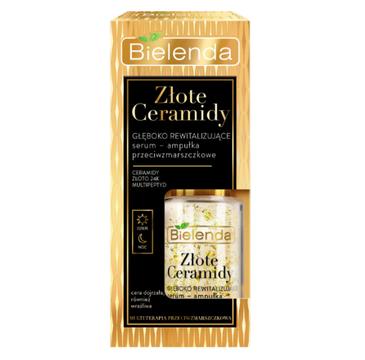 Bielenda Złote Cermidy Rewitalizujące serum-ampułka przeciwzmarszczkowa dzień/noc (15 ml)