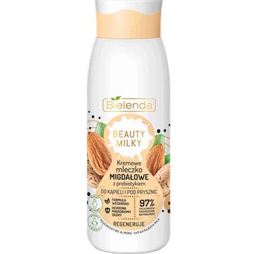 Bielenda – Kremowe Mleczko Migdałowe do kąpieli i pod prysznic (400 ml)