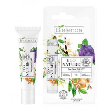 Bielenda Eco Nature – balsam do ust mleczko waniliowe + figa + kwiat pomarańczy (10g)