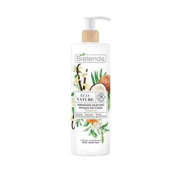 Bielenda – Eco Nature mleczko myjące - mleczko waniliowe (400 ml)