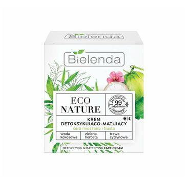 Bielenda – Eco Nature Krem Detoksykująco-Matujący (50 ml)