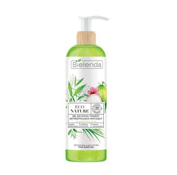 Bielenda – Eco Nature Żel do mycia twarzy Woda Kokosowa  Zielona Herbata (200 ml)