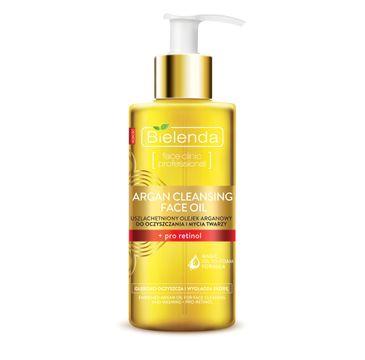 Bielenda Argan Cleansing Face Oil Olejek do mycia twarzy z pro-retinolem 140 ml