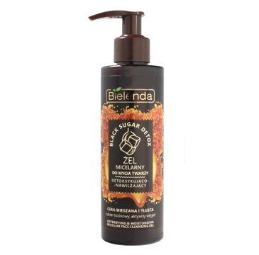 Bielenda Black Sugar żel micelarny do mycia twarzy (detoksykująco nawilżający 200 g)