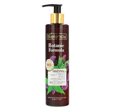 Bielenda Botanic Formula Łopian + Pokrzywa odżywka do włosów przetłuszczających się (245 ml)