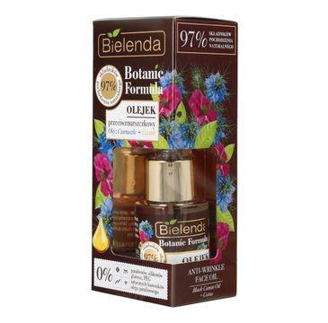 Bielenda Botanic Formula Olej z Czarnuszki + Czystek (olejek przeciwzmarszczkowy do twarzy 15 ml)