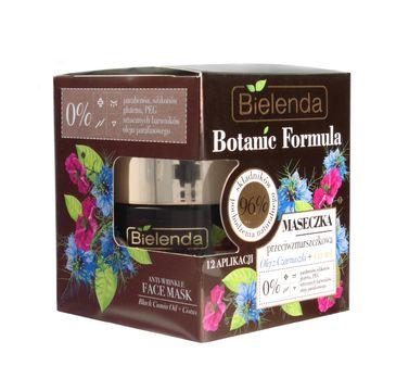 Bielenda Botanic Formula Olej z Czarnuszki + Czystek maseczka przeciwzmarszczkowa (50 ml)