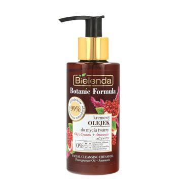 Bielenda Botanic Formula Olej z Granatu + Amarantus (kremowy olejek odżywczy do mycia twarzy 140 ml)