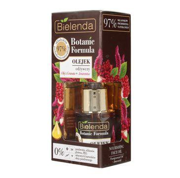 Bielenda Botanic Formula Olej z Granatu + Amarantus (olejek odżywczy do twarzy 15 ml)