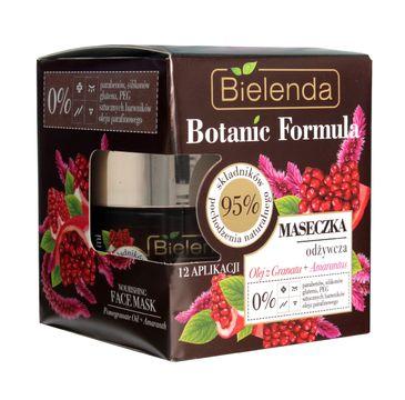 Bielenda Botanic Formula Olej z Granatu + Amarantus maseczka odżywcza do twarzy (50 ml)