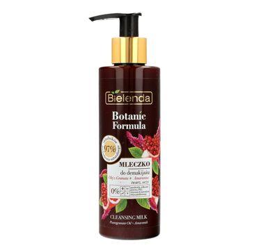 Bielenda Botanic Formula Olej z Granatu + Amarantus mleczko odżywcze do demakijażu (200 ml)