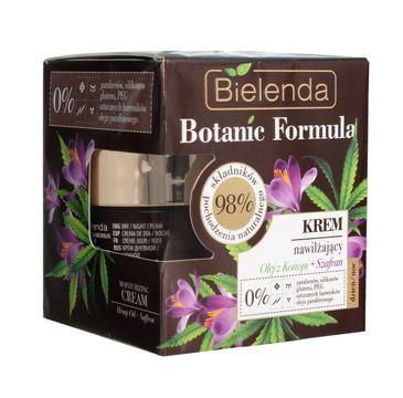 Bielenda Botanic Formula Olej z Konopi + Szafran (krem nawilżający na dzień i noc 50 ml)