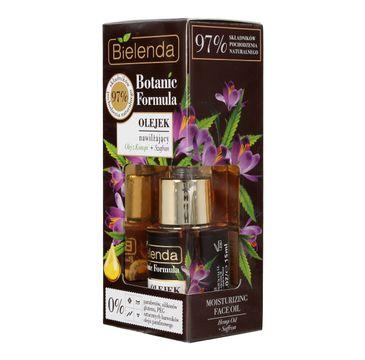 Bielenda Botanic Formula Olej z Konopi + Szafran (olejek nawilżający do twarzy 15 ml)