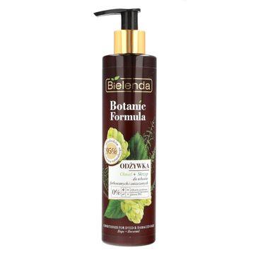 Bielenda Botanic Formula (Skrzyp + Chmiel odżywka do włosów farbowanych i zniszczonych 245 ml)