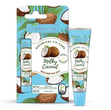 Bielenda balsam do ust (Botanical Lip Care Milky Coconut 10 g)